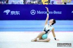 安悦溪节目参加艺术体操项目 动作自信
